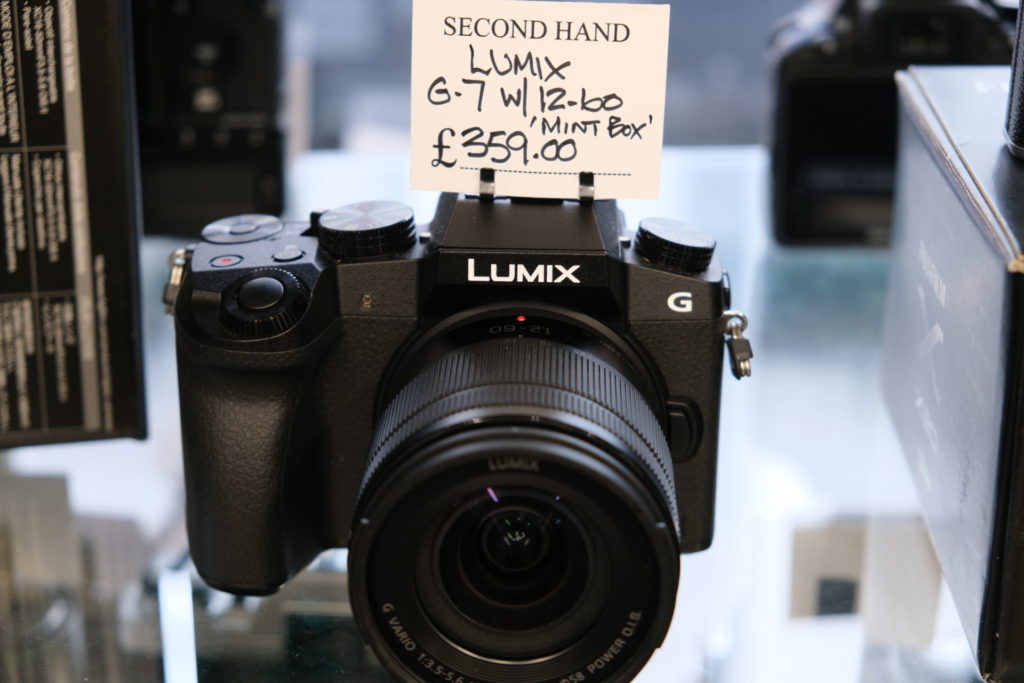 Lumix G7 inc 12-60mm lens