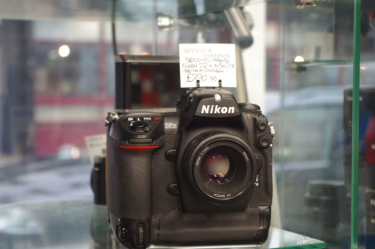 Nikon D2x inc 50mm F1.8